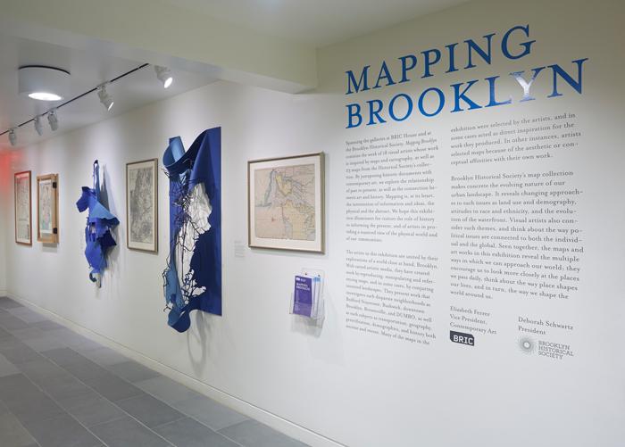 BHS Mapping Brooklyn wall