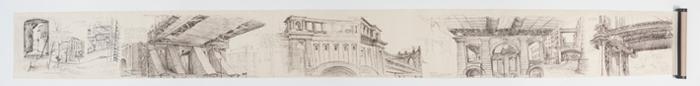 Simonetta Moro Dumbo Blues panorama drawing